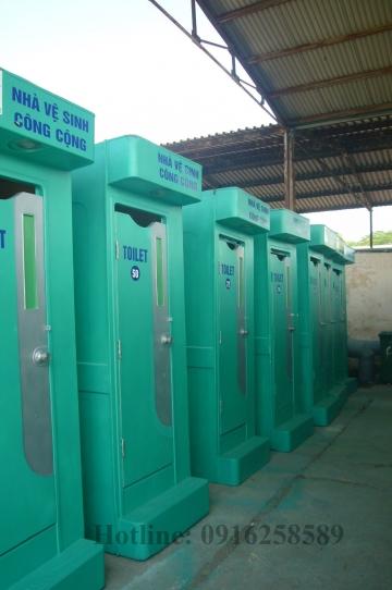 Nhà vệ sinh composite công trình