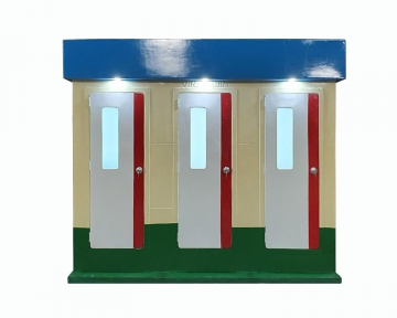Nhà vệ sinh công cộng 3 buồng