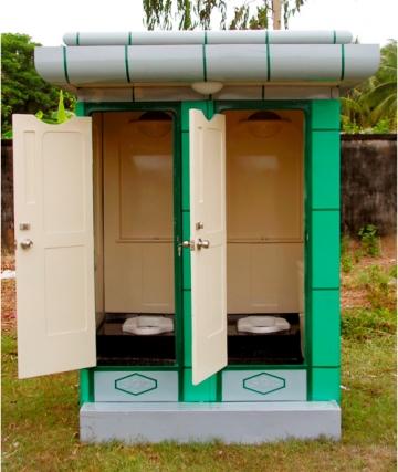 Nhà vệ sinh công cộng đôi giá rẻ