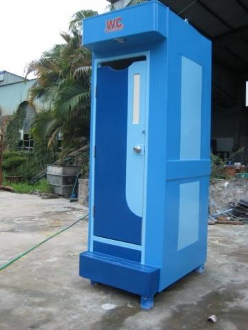 Nhà vệ sinh di động công trình
