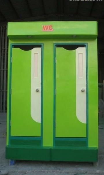 Nhà vệ sinh di động đôi TM2