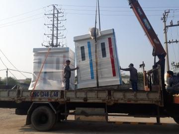 Đầy đủ phương tiện vận tải và xếp dỡ nhà vệ sinh trên toàn quốc