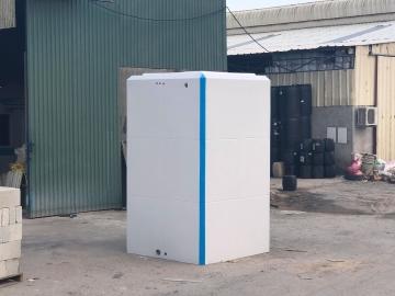 Sản phẩm nhà vệ sinh di động HANDY được đúc nguyên khối chắc chắn