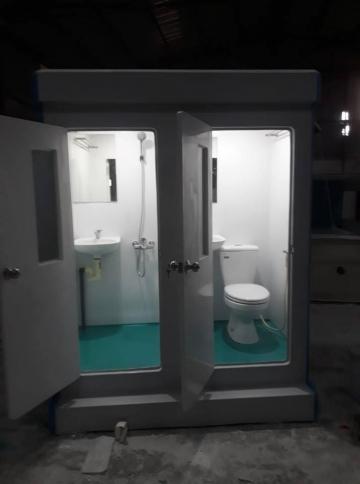 Nhà vệ sinh đôi kết hợp tắm và vệ sinh
