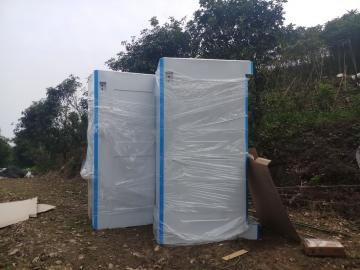 Giao nhà vệ sinh di động tại Hà Nội