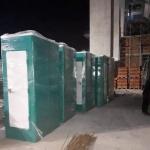 Chúng tôi phục vụ nhà vệ sinh di động chuyên dùng phục vụ thi công nhà cao tầng