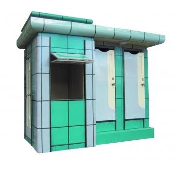 Nhà vệ sinh công cộng có quầy thu phí cũ