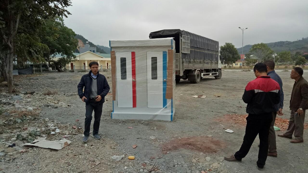 Hàng nghìn nhà vệ sinh đã được chúng tôi cung cấp trên cả nước