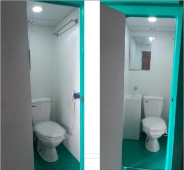 Nội thất nhà vệ sinh di động V17.2C