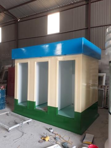 Sản phẩm được đúc liền khối bằng vật liệu composite cao cấp
