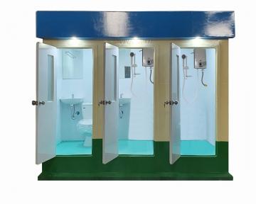 WC di động vừa tắm +toilet