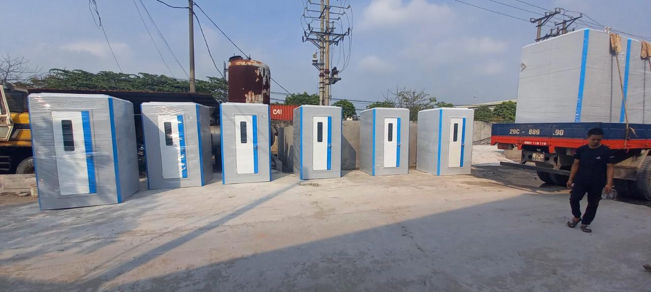 Nhà vệ sinh di động liền cabin tắm