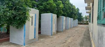 Cho thuê nhà tắm phục vụ cách ly phòng dịch Covid-19