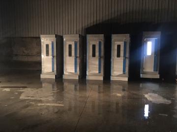 Nhà tắm cao cấp phục vụ cách ly