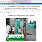 Các đối tượng sử dụng hình ảnh sản phẩm của Saigon Composite để quảng cáo hàng giả
